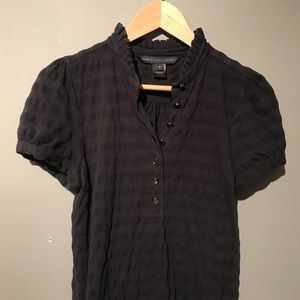 a722a0c86bed Marc By Marc Jacobs Tops - Marc by Marc Jacobs ruffled black striped polo M